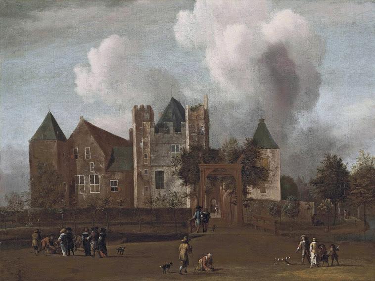 Kasteel Purmerend door Jan van Kessel